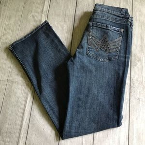 SEVEN FOR ALL MANKIND GIRL'S Size 10 Bootcut Jeans